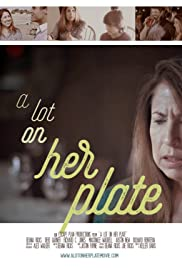 A Lot on Her Plate Poster