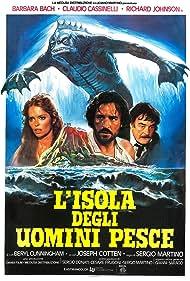 Barbara Bach, Claudio Cassinelli, and Richard Johnson in L'isola degli uomini pesce (1979)