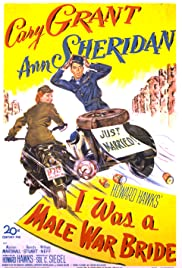 I Was a Male War Bride (1949) Poster - Movie Forum, Cast, Reviews