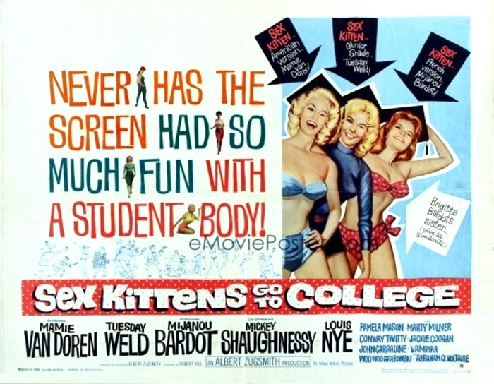 Dvd sex kitten goes to college