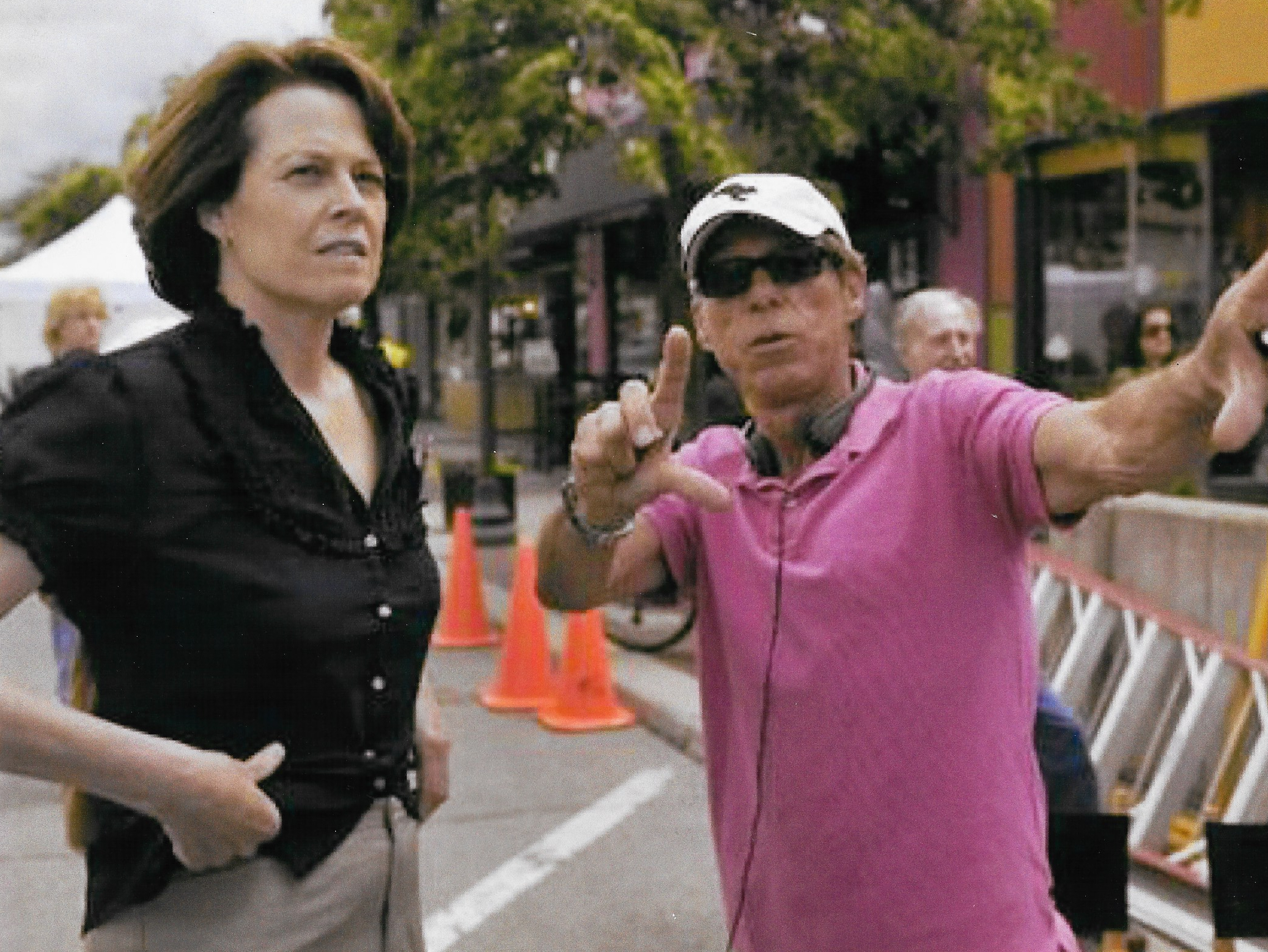 Sigourney Weaver and Russell Mulcahy. 'Prayers for Bobby'