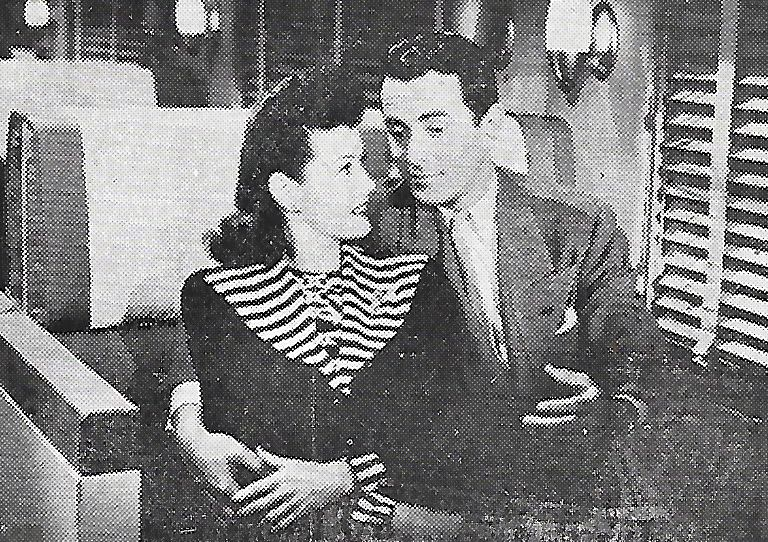 Peter Cookson and Marjorie Weaver in Shadow of Suspicion (1944)