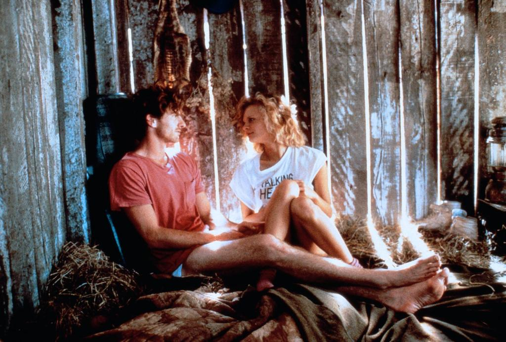 Martha Plimpton and John Philbin in Shy People (1987)