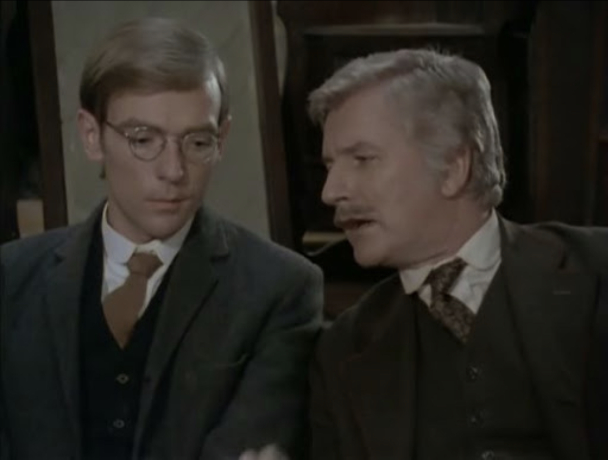 Bosco Hogan and T.P. McKenna in A Portrait of the Artist as a Young Man (1977)