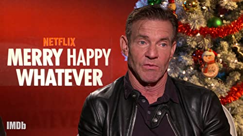 """Dennis Quaid Talks Starring in His First Sitcom """"Merry Happy Whatever"""""""