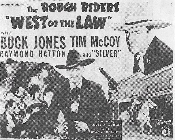 Tim McCoy and Buck Jones in West of the Law (1942)