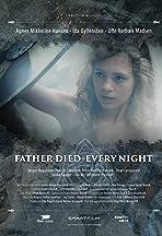 Min pappa dog varje kväll