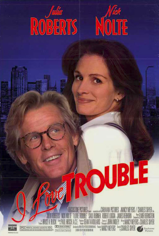 18+ I Love Trouble 1994 English 400MB BluRay