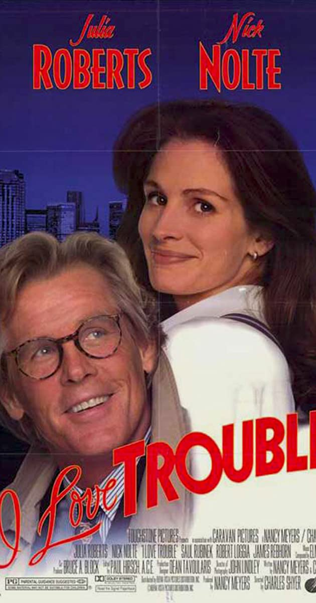 Subtitle of I Love Trouble
