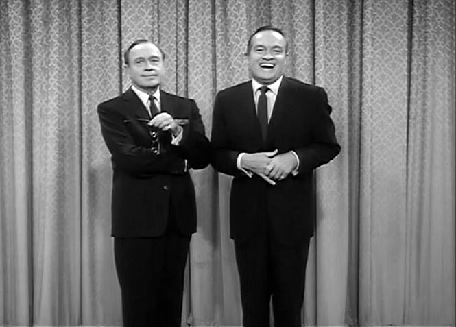 Jack Benny and Bob Hope in The Jack Benny Program (1950)