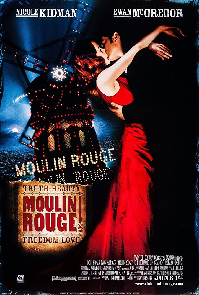 Nicole Kidman and Ewan McGregor in Moulin Rouge! (2001)