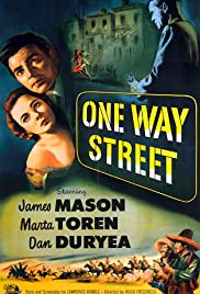 One Way Street Poster