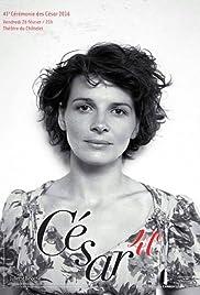 41ème nuit des Césars Poster