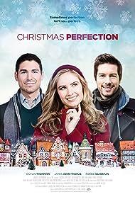 Caitlin Thompson, Robbie Silverman, and James Henri-Thomas in Christmas Perfection (2018)