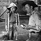 Robert Mitchum and Peter Miles in The Red Pony (1949)