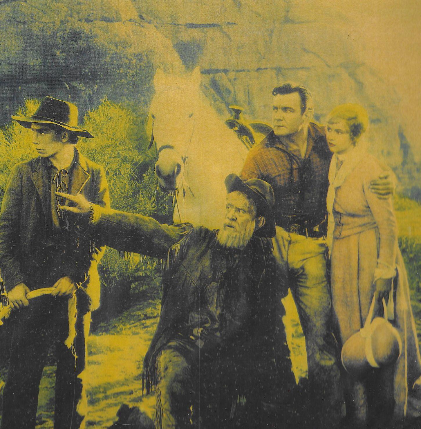 Buck Black, Buck Jones, and Cecilia Parker in Unknown Valley (1933)