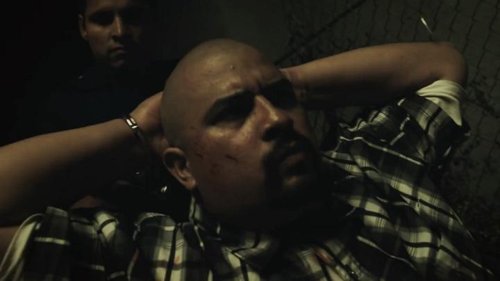 David Fernandez Jr. and Michael Pena in End of Watch