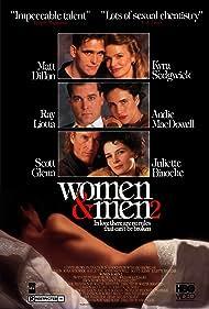 Juliette Binoche, Matt Dillon, Ray Liotta, Andie MacDowell, Scott Glenn, and Kyra Sedgwick in Women & Men 2: In Love There Are No Rules (1991)