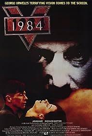 John Hurt, Bob Flag, and Suzanna Hamilton in Nineteen Eighty-Four (1984)