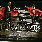 Sheng Chiang and Phillip Chung-Fung Kwok in Tie qi men (1980)