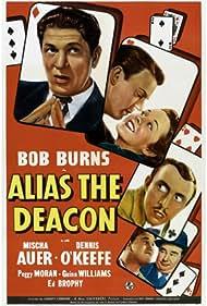 Mischa Auer, Edward Brophy, Bob Burns, Peggy Moran, and Dennis O'Keefe in Alias the Deacon (1940)