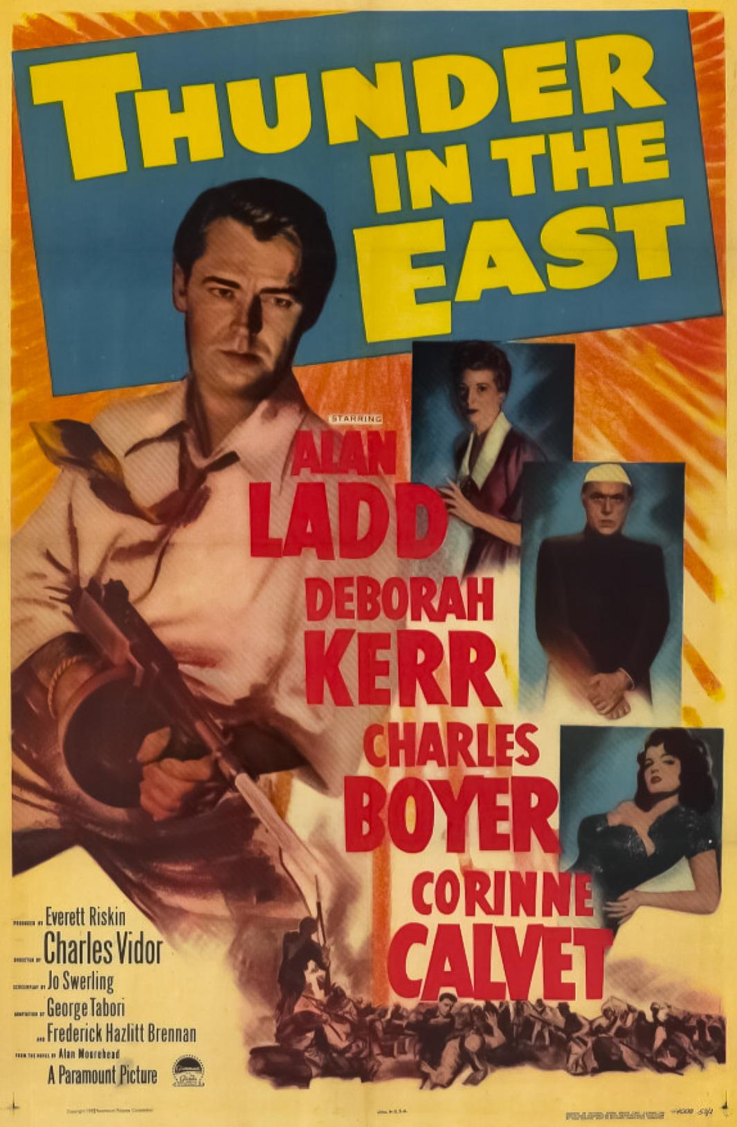 Thunder in the East (1952) - IMDb