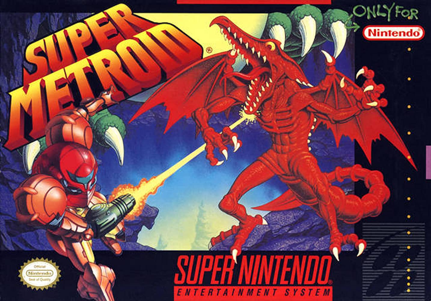 Image result for cover super metroid
