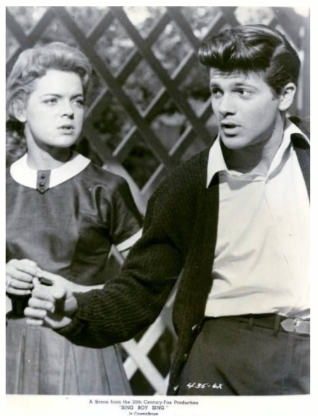 Lili Gentle and Tommy Sands in Sing Boy Sing (1958)