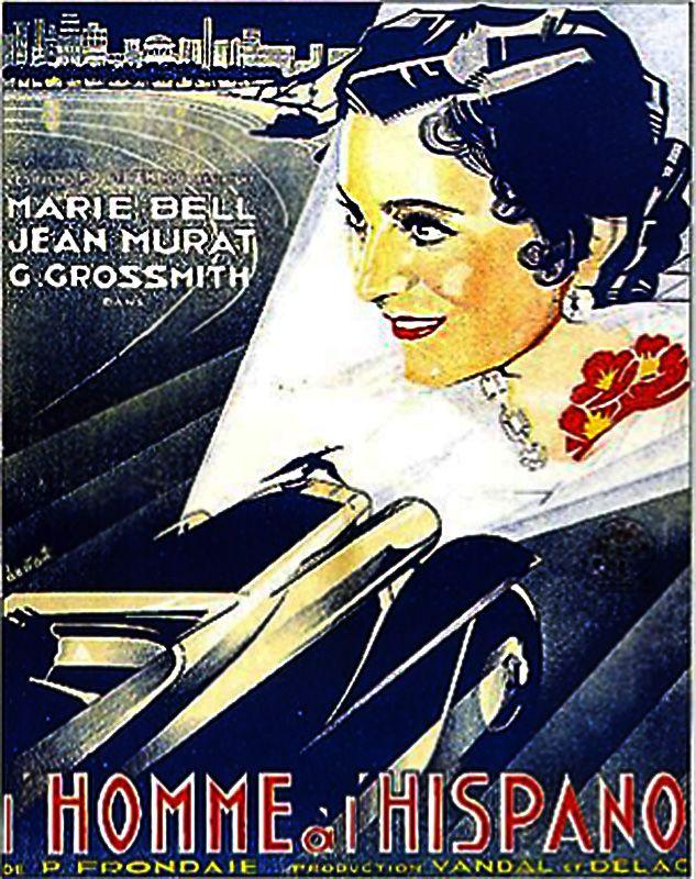 Marie Bell in L'homme à l'Hispano (1933)