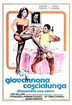 poster Giovannona Coscialunga disonorata con onore