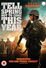 Tell Spring Not to Come This Year Poster