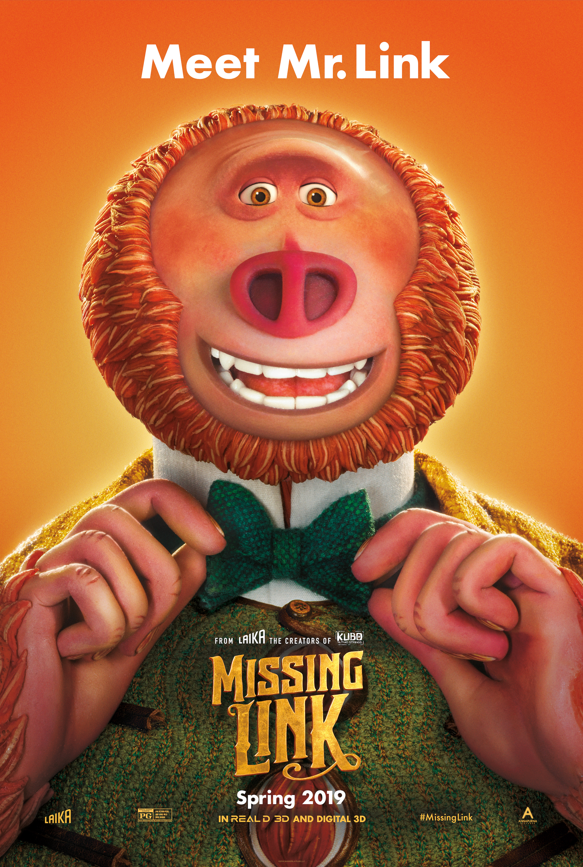 Image result for Missing link movie poster