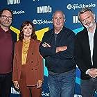 Susan Sarandon, Sam Neill, Roger Michell, and Rainn Wilson at an event for Blackbird (2019)
