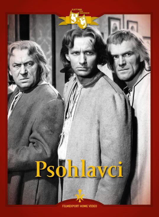 Radovan Lukavský and Vladimír Ráz in Psohlavci (1955)