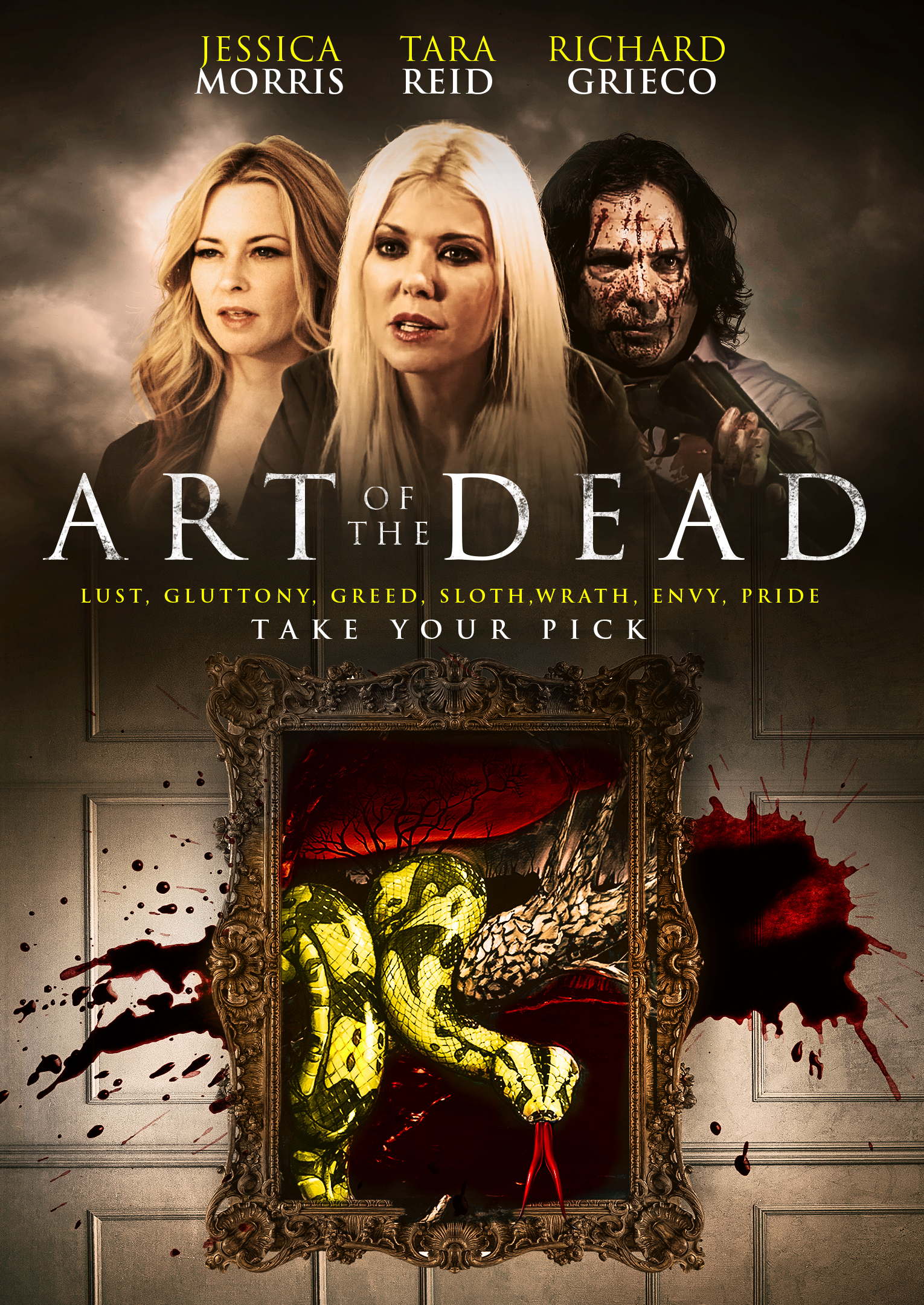 Art of the Dead (2019) Tamil Dubbed (Voice Over) & English [Dual Audio] BluRay 720p [1XBET]