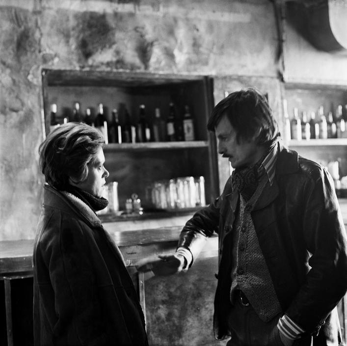Andrei Tarkovsky and Alisa Freyndlikh in Stalker (1979)