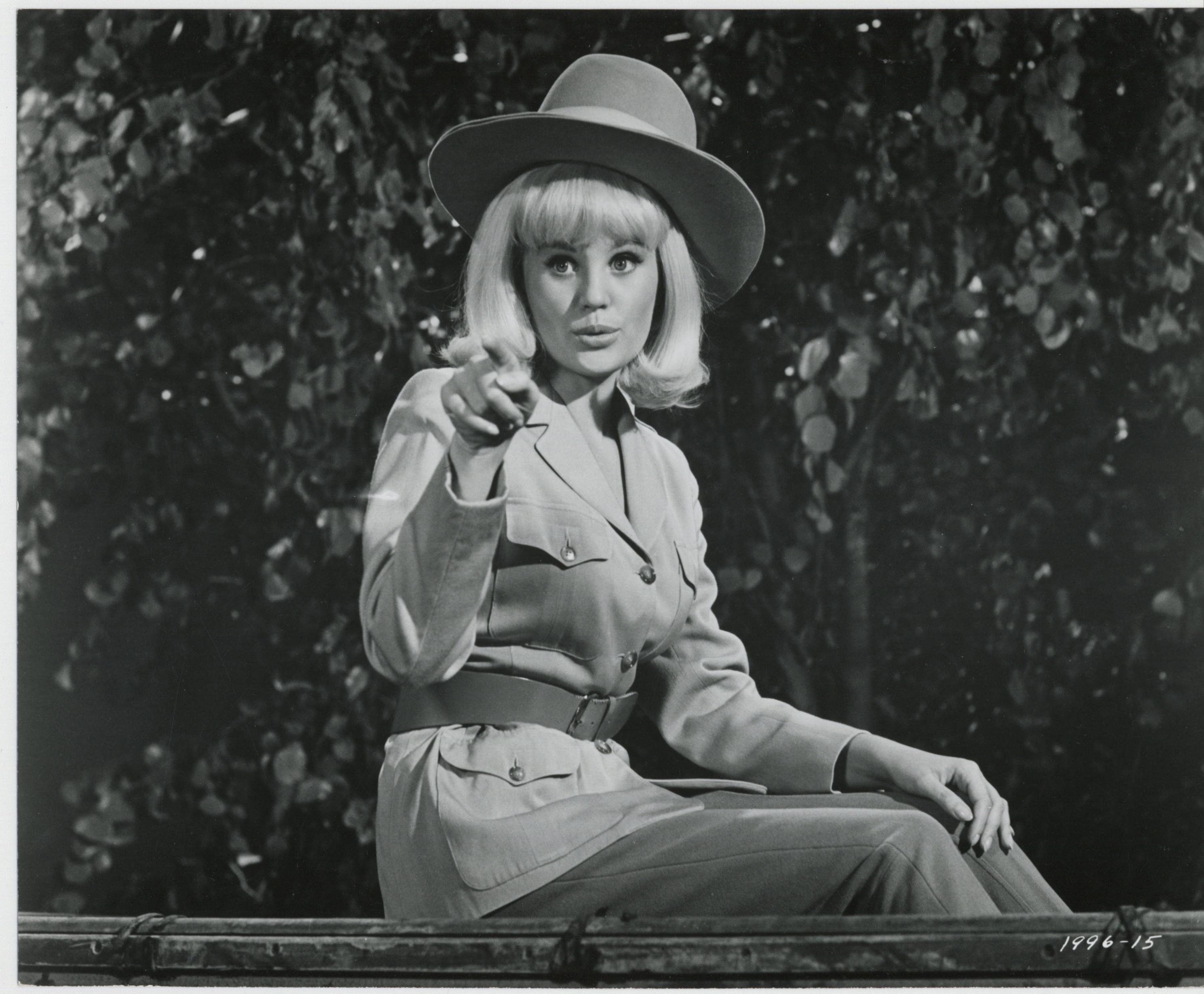 Pamela Austin in The Perils of Pauline (1967)