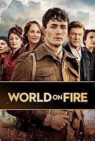 Helen Hunt, Sean Bean, Lesley Manville, Zofia Wichlacz, Jonah Hauer-King, and Julia Brown in World on Fire (2019)