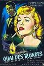 Quai des blondes (1954) Poster