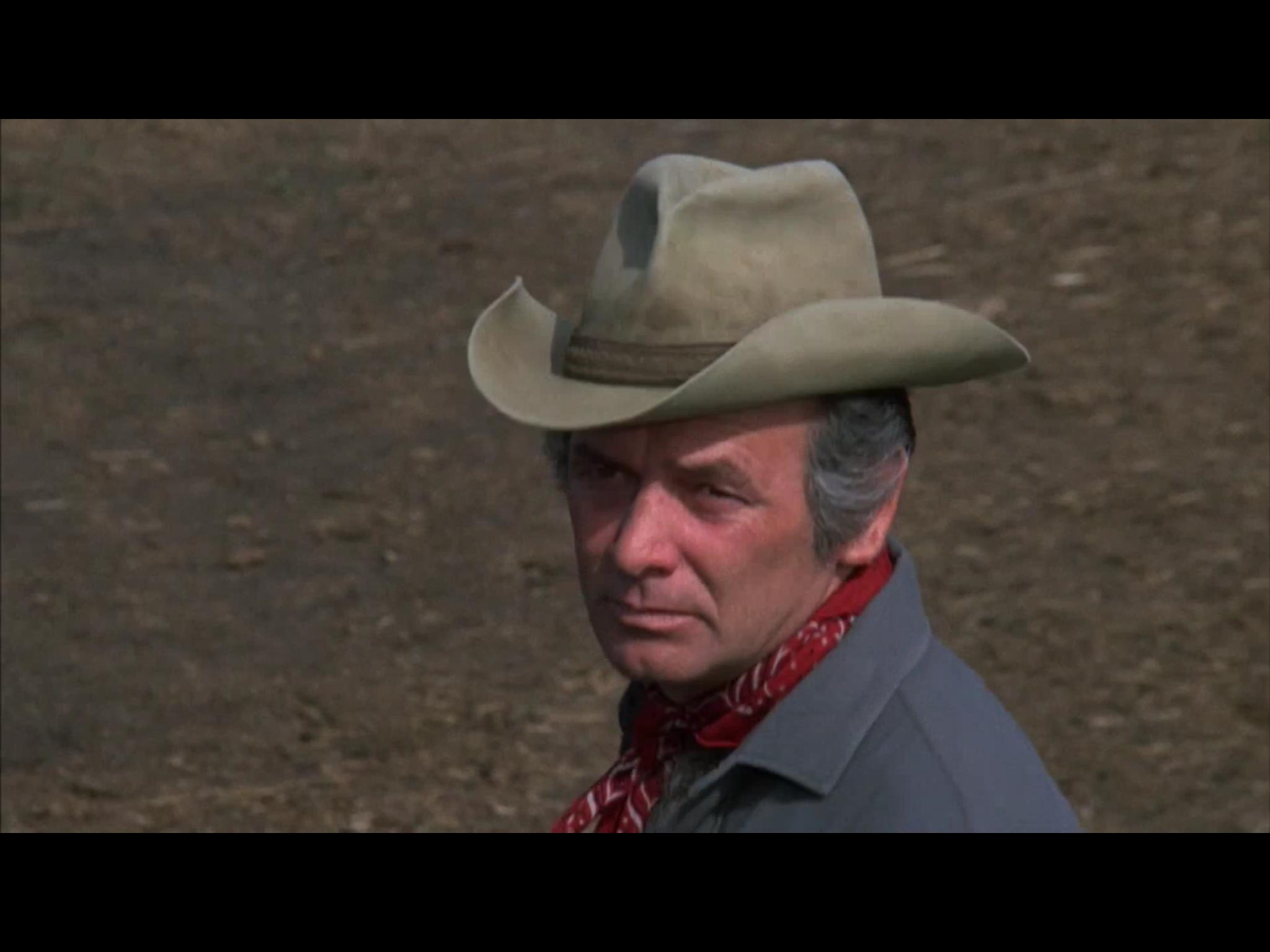 David Janssen in Pioneer Woman (1973)