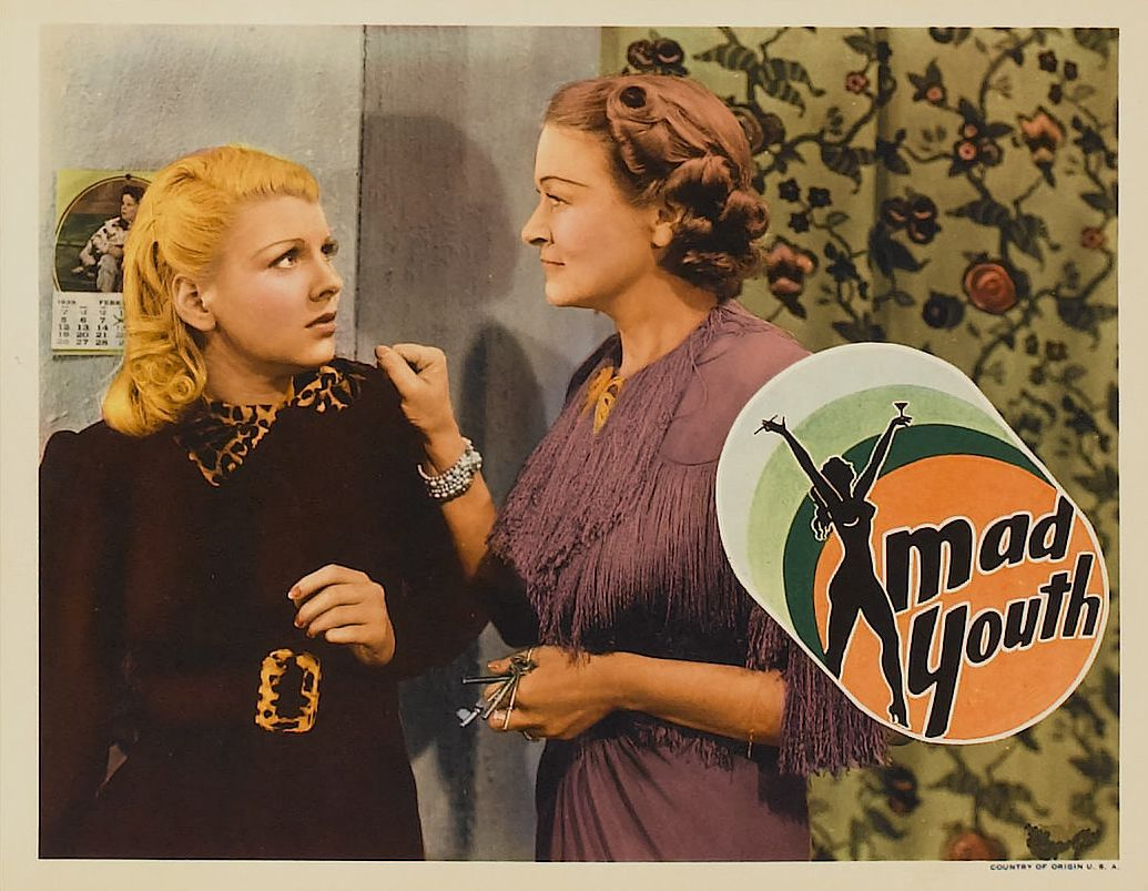 Mary Ainslee and Margaret Fealy in Mad Youth (1939)