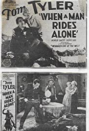 When a Man Rides Alone Poster