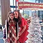 Rachel Boston and Milli Wilkinson in Ice Sculpture Christmas (2015)