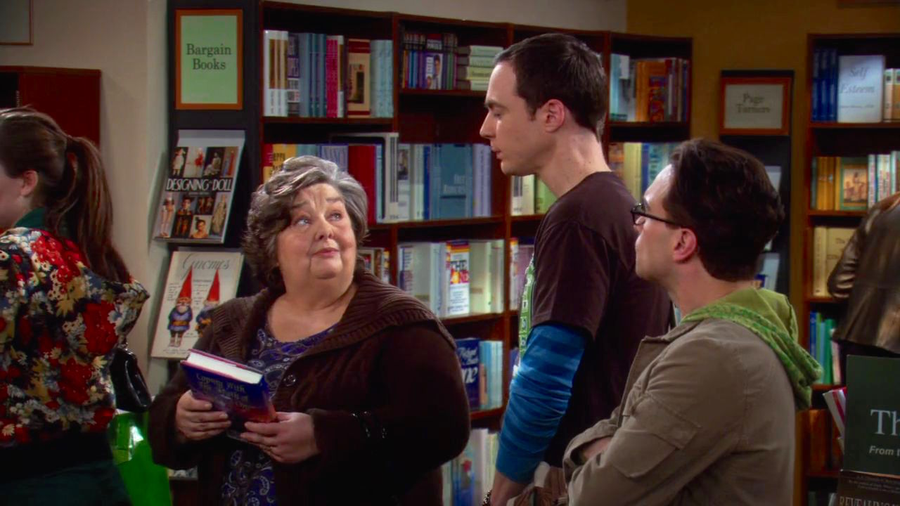 Johnny Galecki, Jim Parsons, and Jane Galloway Heitz in The Big Bang Theory (2007)