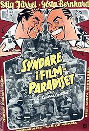 Syndare i filmparadiset Poster