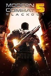 Modern Combat 5: Blackout Poster