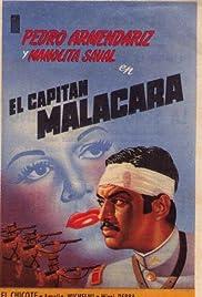 El capitán Malacara Poster