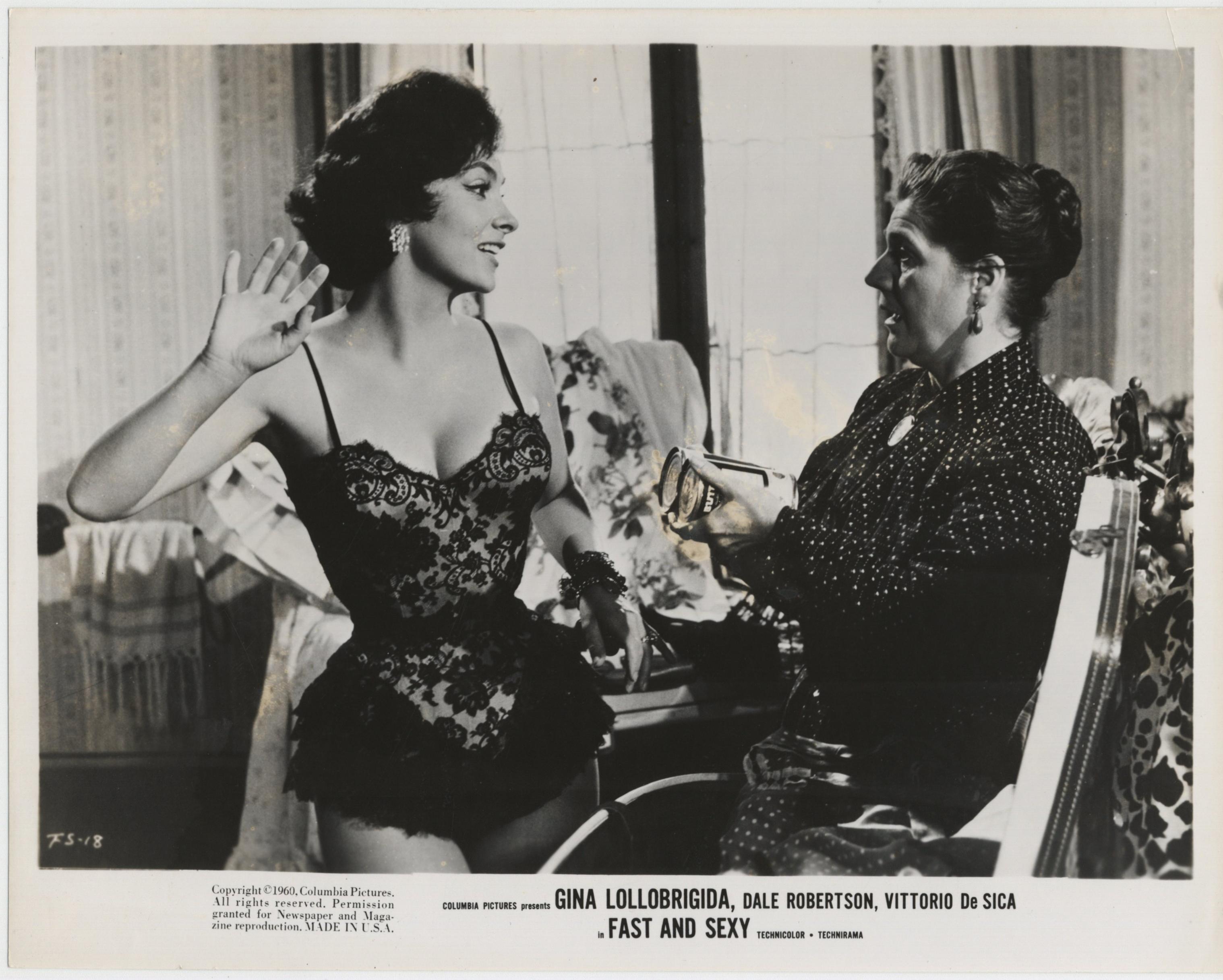 Gina Lollobrigida in Anna di Brooklyn (1958)