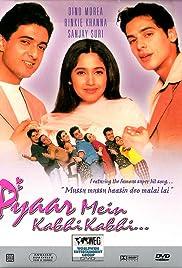 Pyaar Mein Kabhi Kabhi...(1999) Poster - Movie Forum, Cast, Reviews