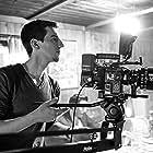 "Sebastian Klinger on set of ""Maiensäss"""